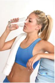 Acqua da bere palestre centri benessere